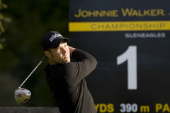 GLF: Europén turnerar Johnnie Walker Championship Arkivbild