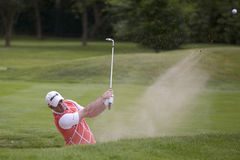 GLF: European Tour BMW PGA Championship. WENTWORTH, ENGLAND. 22 MAY 2009.Paul MCGINLEY IRL playing in the 2nd round of the European Tour BMW PGA Championship Royalty Free Stock Image