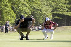 GLF: European Tour BMW PGA Championship Royalty Free Stock Images