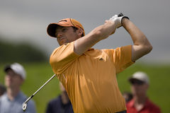GLF: European Tour Golf The European Open. KENT ENGLAND, 27 MAY 2009. Sergio GARCIA (ESP) playing in the first round of the European Tour European Open golf Royalty Free Stock Photo