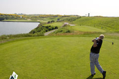 GLF: French Open pro-am round Royalty Free Stock Photos
