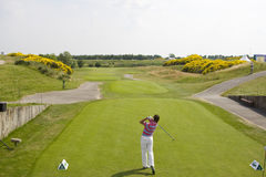 GLF: Open de France 1st round Royalty Free Stock Photo