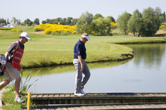 GLF: Open de France - third round Royalty Free Stock Image