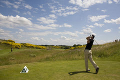 GLF: Open de France - third round Stock Image