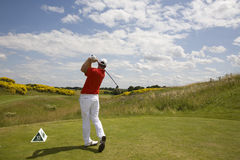 GLF: Open de France - third round Royalty Free Stock Photo