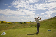 GLF: Open de France - third round Stock Images