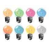 Glühlampen Lizenzfreie Stockbilder