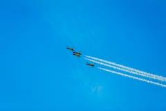 Gli aerei di Air Moldova del airshow Fotografie Stock Libere da Diritti