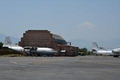 Gli aerei nell'aeroporto Fotografia Stock Libera da Diritti