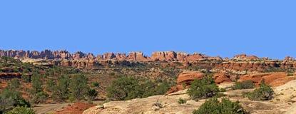 Gli aghi, parco nazionale di Canyonlands Immagine Stock