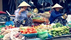 Gli agricoltori commercializzano in Hoi An immagine stock libera da diritti