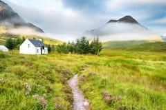 Gli altopiani scozzesi fotografia stock libera da diritti