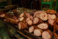 Gli amanti della carne non saranno delusi in Tandil, Argentina fotografie stock