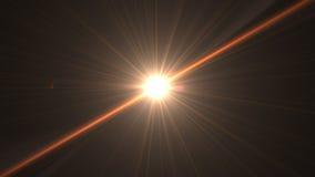 Gli ambiti di provenienza astratti dello spazio si accende su fondo nero (alta risoluzione eccellente) Fotografie Stock