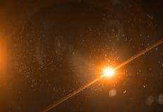 Gli ambiti di provenienza astratti dello spazio si accende su fondo nero (alta risoluzione eccellente) Illustrazione Vettoriale