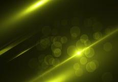 Gli ambiti di provenienza astratti dello spazio si accende su fondo nero (alta risoluzione eccellente) Fotografia Stock Libera da Diritti
