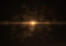 Gli ambiti di provenienza astratti dello spazio si accende su fondo nero (alta risoluzione eccellente) Immagine Stock Libera da Diritti