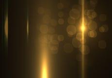 Gli ambiti di provenienza astratti dello spazio si accende su fondo nero (alta risoluzione eccellente) Immagini Stock