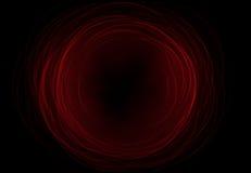 Gli ambiti di provenienza astratti dello spazio si accende su fondo nero (alta risoluzione eccellente) Royalty Illustrazione gratis