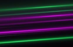 Gli ambiti di provenienza astratti dello spazio si accende su fondo nero (alta risoluzione eccellente) Fotografia Stock