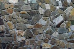 Gli ambiti di provenienza strutturati del contesto dei mattoni della costruzione che costruiscono il calcestruzzo astratto materi Immagini Stock Libere da Diritti