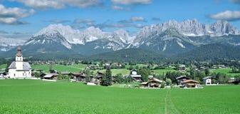 gli andanti wilden il kaiser, Tirol, Austria Immagine Stock Libera da Diritti