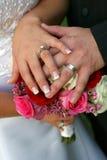 Gli anelli Fotografie Stock
