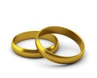 Gli anelli Immagini Stock