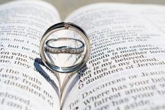 Gli anelli sono cuori immagine stock libera da diritti