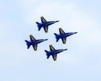 Gli angeli blu Fotografia Stock Libera da Diritti