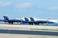 Gli angeli blu tolgono. Fotografia Stock Libera da Diritti