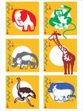Gli animali africani Immagine Stock Libera da Diritti