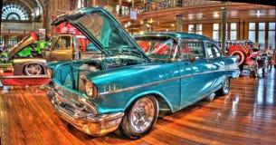 Gli anni 50 classici Chevy Immagini Stock Libere da Diritti