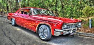 Gli anni 60 classici Chevy Impala Fotografia Stock Libera da Diritti