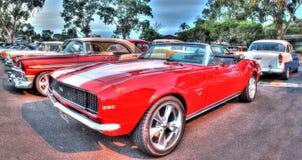 Gli anni 60 classici Chevy ss Camaro Fotografia Stock Libera da Diritti
