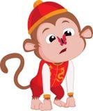 Gli anni della scimmia Immagine Stock Libera da Diritti