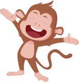 Gli anni della scimmia Immagine Stock