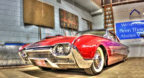 gli anni 60 Ford Thunderbird Immagine Stock Libera da Diritti
