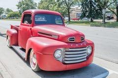 gli anni 40 guadano il camion alla crociera di sogno di Woodward Fotografie Stock Libere da Diritti