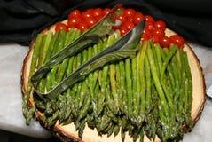 Gli aperitivi sono pronti per gli ospiti Fotografie Stock Libere da Diritti
