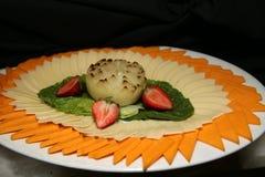 Gli aperitivi sono pronti per gli ospiti Fotografie Stock