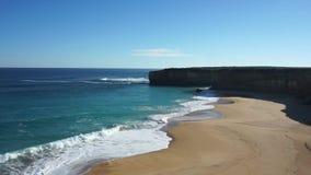 Gli apostoli - baia del verme, grande strada dell'oceano video d archivio