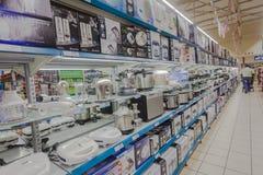 Cucina degli apparecchi del mercato dell'alimento   Fotografie Stock