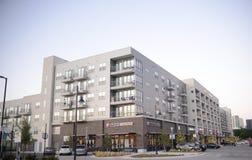 Gli appartamenti ad Alta Left Bank, Fort Worth, il Texas immagine stock