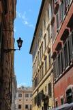 Gli appartamenti di Roma Immagini Stock Libere da Diritti