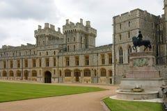 Gli appartamenti reali nel castello di Windsor Immagine Stock Libera da Diritti
