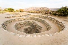 Gli aquedotti si avvicinano a Nazca, Perù fotografia stock libera da diritti
