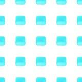 Gli azzurri vector il modello senza cuciture geometrico Immagine Stock Libera da Diritti