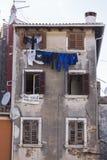 Gli edifici di Rovigno Fotografia Stock