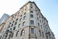Gli edifici No.1, edificio di Bund di McBain a Shanghai Immagine Stock Libera da Diritti